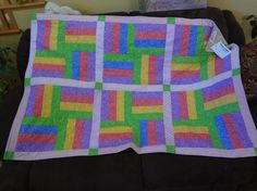 Easy Quilt Patterns | Easy Quilt Patterns | Quilting Ideas | Project on Craftsy: Easy strip ...