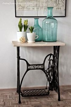 Dining Room, Home Decor, Singer Sewing Machine, Old Bottles, Scandinavian  Style