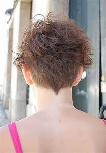 Back View Short Curly Hairstyles Short Curly Hair Short