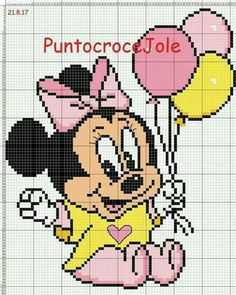 Baby Minnie Mouse c2c
