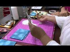 Mulher.com 09/10/2014 Monica Quirino - Cestinha de natal cartonagem Parte 1/2 - YouTube