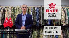 RAFF Military Textile - Milipol 2017 Invitation