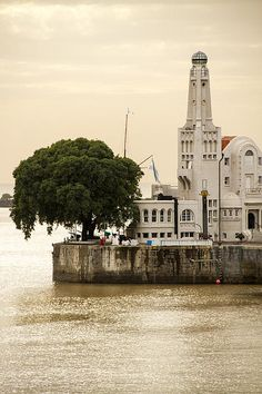 ∴ Buenos Aires lighthouse. Argentina. Established station in 1786 and built lighthouse in 1884