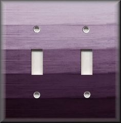 Various Sizes Offered Purple Ombre Birds Light Switch Cover