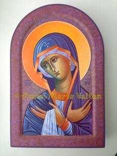 Mother of God praying