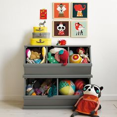 Love this gray :: Kids' Toy Boxes | The Land of Nod