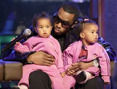 P. Diddy – singer has twin daughters named D'Lila Star and Jessie James born on 21st December 2006.
