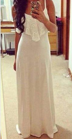 Fluorescence Color Spaghetti Strap Lace Ankle Length Dress. Abiti ... 2f967f61328