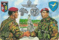"""Esercito Italiano - Dal 15 marzo 2002 il 1° Reggimento Carabinieri Paracadutisti """"Tuscania"""" che era alle dipendenze della Brigata Paracadutisti """"Folgore"""" dell'Esercito, è ora inquadrato nella 2^ Brigata Mobile dei Carabinieri"""