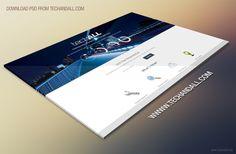 Website Perspective Showcase Mockup