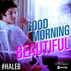 We want to wake up to this every morning.  #Haleb #PLL - Season 6 Episode 4 Review: Don't Look Now