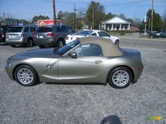 bmw olivine colors | 2005 BMW Z4 2.5i Roadster - Olivine Green Metallic Color / Dark Beige ...