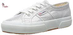 Superga 2750 LAMEW, Baskets mode mixte adulte, Argent (031 Silver), 41 - Chaussures superga (*Partner-Link)