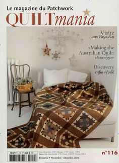 Visite aux Pays-Bas. Gefunden in: Quiltmania France, Nr. 116/2016
