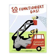 """""""Kinder wie Erwachsene finden die Vorstellung total komisch, dass eine Lokomotive von einer Bande Affen und ein Lastwagen von einem Elefanten angetrieben wird. Aber wie staunt der Junge, der mit solchen Erklärungen seine kleine Schwester ver albern wollte, als die ihm zeigt, wie ein Fahrrad funktioniert..."""""""