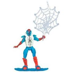 Awesome Arctic Spiderman Action Figure! #spiderman #actionfigure #collectible #superhero