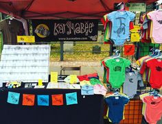 Back at the Farmers Market for maybe the last one of the season. My shop is still closed for fire repairs  so please come by and say hello until 2pm today! @kingstonfarmersmarket #kingstonnyfarmersmarket #kingstonfarmersmarket #kingstonny #hudsonvalley #hudsonvalleyartists #hudsonvalleycompass #karmabee #baby #cards #greetingcards #tee #tshirts #silkscreen #bats