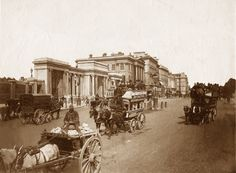 Old Photos of Famous Landmarks in London, England, United Kingdom of Great Britain Page III Victorian Life, Victorian London, Vintage London, Old London, Old Pictures, Old Photos, Vintage Photos, Vintage Photographs, Vintage Postcards