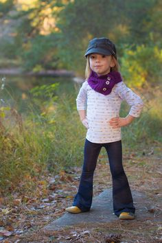 Sansa Flare Pants PDF Sewing Pattern by BellaSunshineDesigns