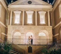 Fall Wedding at Old Exchange Building | Terri & Jim