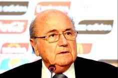 Protest against FIFA President Sepp Blatter http://sportyghost.com/protest-fifa-president-sepp-blatter/