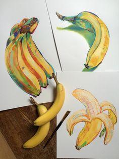 Fruit Sketch Ideas 63 Ideas For 2019 Art Sketches, Art Drawings, Pencil Drawings, Fruit Sketch, Fruits Drawing, Arte Sketchbook, A Level Art, Wow Art, Pretty Art