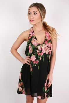 Love At First Sight Dress in Black $46