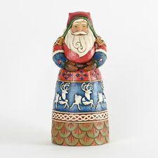 Old Man Winter Lapland Santa Reindeer Skirt Figurine Jim Shore - 4034357 - NIB!