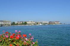 Lac Leman, Geneva-Switzerland.