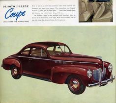 1940 DeSoto Deluxe Club Coupe