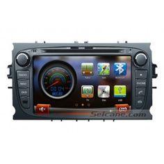 7 pouces 2010 Ford Tourneo Transit Connect radio bluetooth GPS sat navigation appui tête Lecteur DVD voiture stéréo AUX Caméra