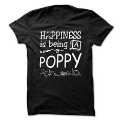 HAPPINESS IS BEING  A POPPY