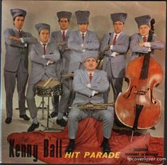 """Kenny Ball and His Jazzmen """"Hit Parade"""" Pye Records (UK) Featuring """"Midnight in Moscow"""""""