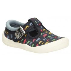 85bbb07f0777 Boys Canvas Shoes - Briley Lad Fst in Navy Canvas from Clarks shoes