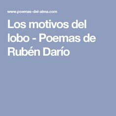 8 Ruben Darío Ideas Quotes Poems Words