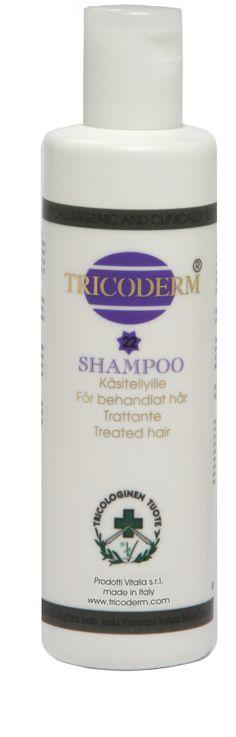 Shampoo capelli trattati