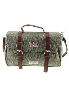 Harris Tweed Satchel Bag | The Edinburgh Woollen Mill