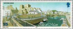 Sello: Harbours (Isla de Man) (Harbours) Mi:IM 518,Yt:IM 552,AFA:IM 511