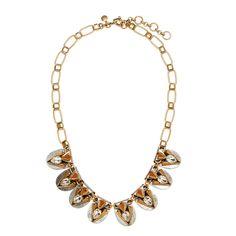 Metal origami necklace : necklaces | J.Crew