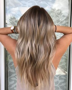 35 Balayage Hair Color Ideas for Brunettes in The French hair coloring tec. - - 35 Balayage Hair Color Ideas for Brunettes in The French hair coloring technique: Balayage. These 35 balayage hair color ideas for brunettes in . Bronde Balayage, Hair Color Balayage, Hair Highlights, Balayage Brunette To Blonde, Platinum Highlights, Blonde Color, Blonde Hair For Brunettes, Ombre Colour, Blonde Waves