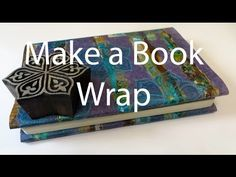 Make a Book Wrap with Decovil 1 Light. Textile artist Kim Thittichai teaches you how to wrap a book using Decovil 1 Light. To buy these products go to www.nid-noi.com