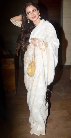 Rekha at the screening of 'Khoobsurat.