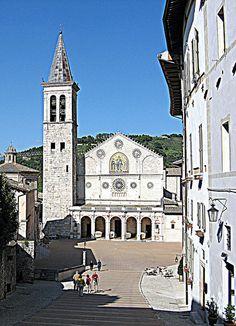 Spoleto's Cathedral, Spoleto, Italy  via flickr.com