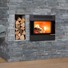 Wood Burning Stoves to suit any style of home or budget. Full range of wood burning stove from leading brands at great prices, including free UK mainland delivery. Inset Stoves, Log Burner, Wood Burning, Lounge, Home Appliances, Contemporary, House Styles, Storage, House Ideas