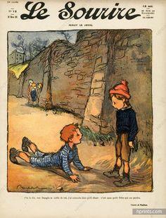 Francisque Poulbot 1911 Children