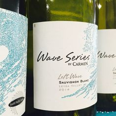 Love zippy Wave Series Sauvignon from Chile - the name really tells you everything! Fresh, lively, cool and refreshing.