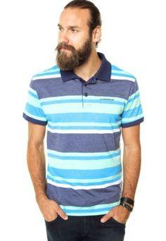 Camisa Polo Ellus 2ND Floor Listrada Azul