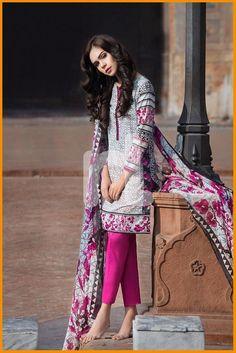 Nishat Linen Summer Collection 2016 Volume 1  #NishatLinen #LawnCollection #DressesCollection #SpringSummerLawn