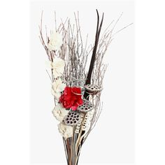 Christmas Bouquets | Frosted With Red Dahlia -- Vyn Flowers