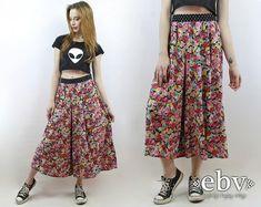Festival de los años 90 pantalones pantalones florales por shopEBV